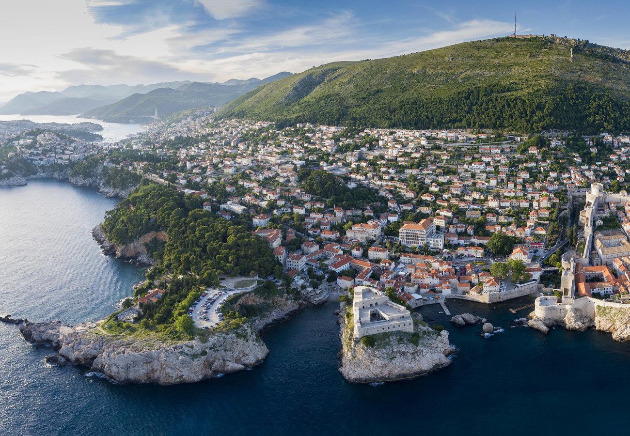 Город Дубровник вХорватии
