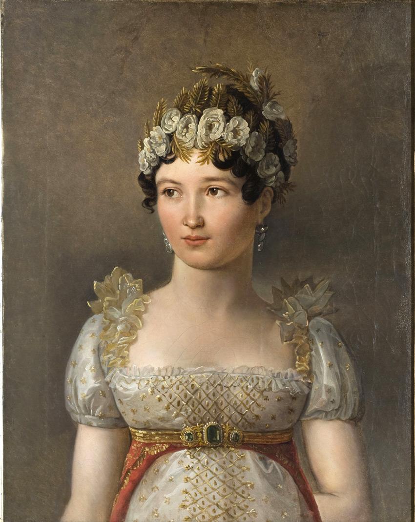 Портрет Каролины Бонапарт, королевы Неаполя