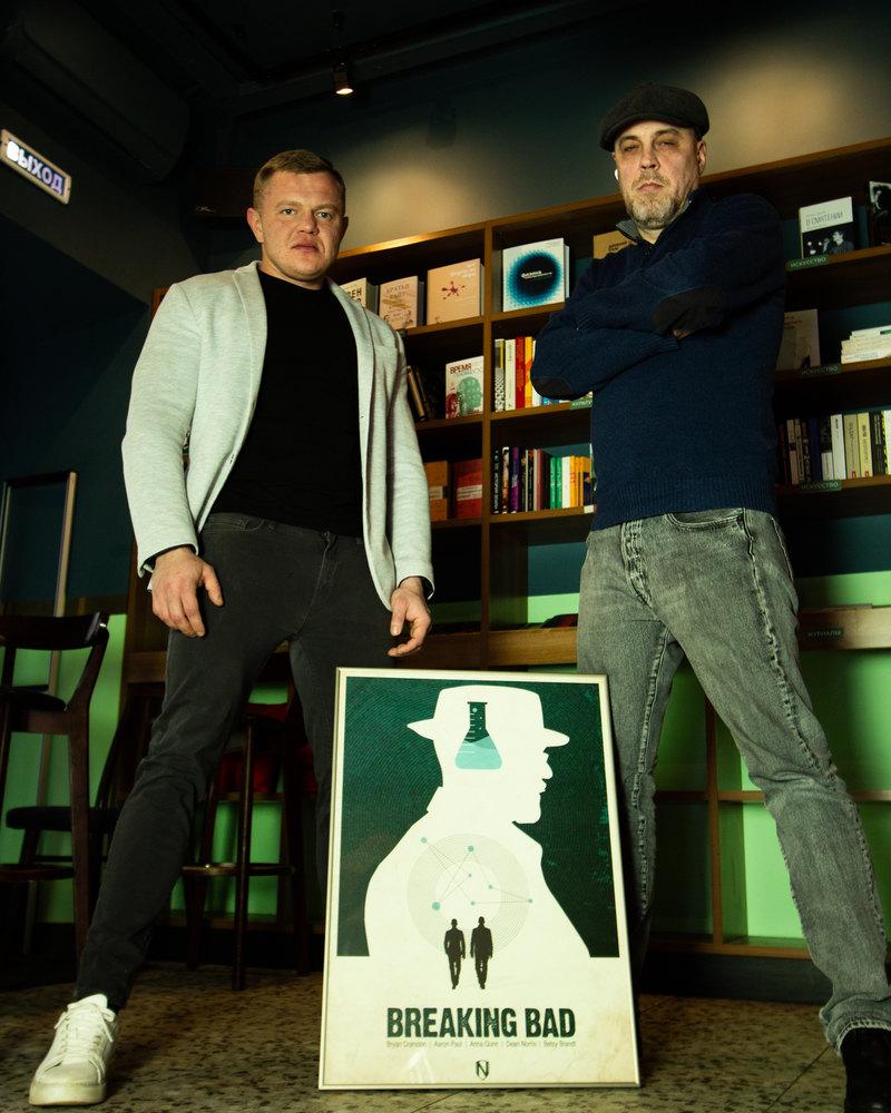 Никита Гусев (слева) иГеоргий Найдёнов (справа)