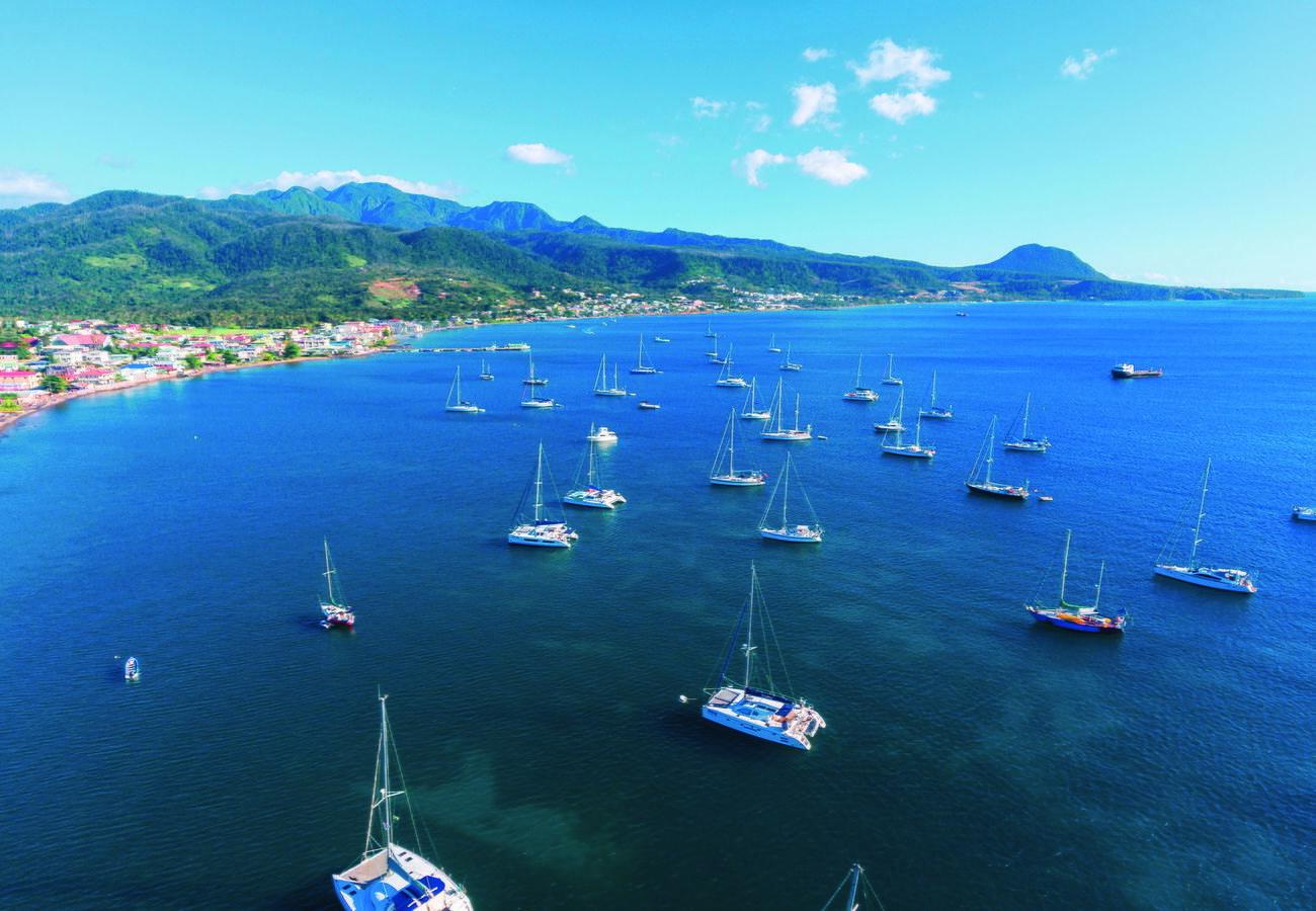 Залив Принца Руперта насеверо-западном побережье Доминики