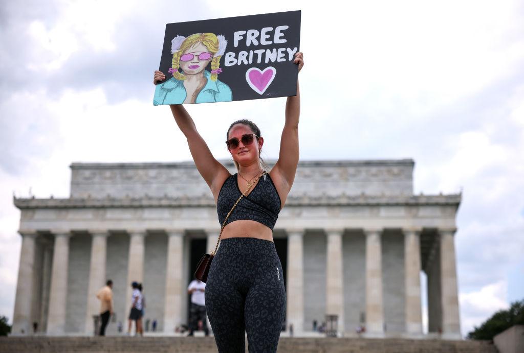 Участница движения #FreeBritney