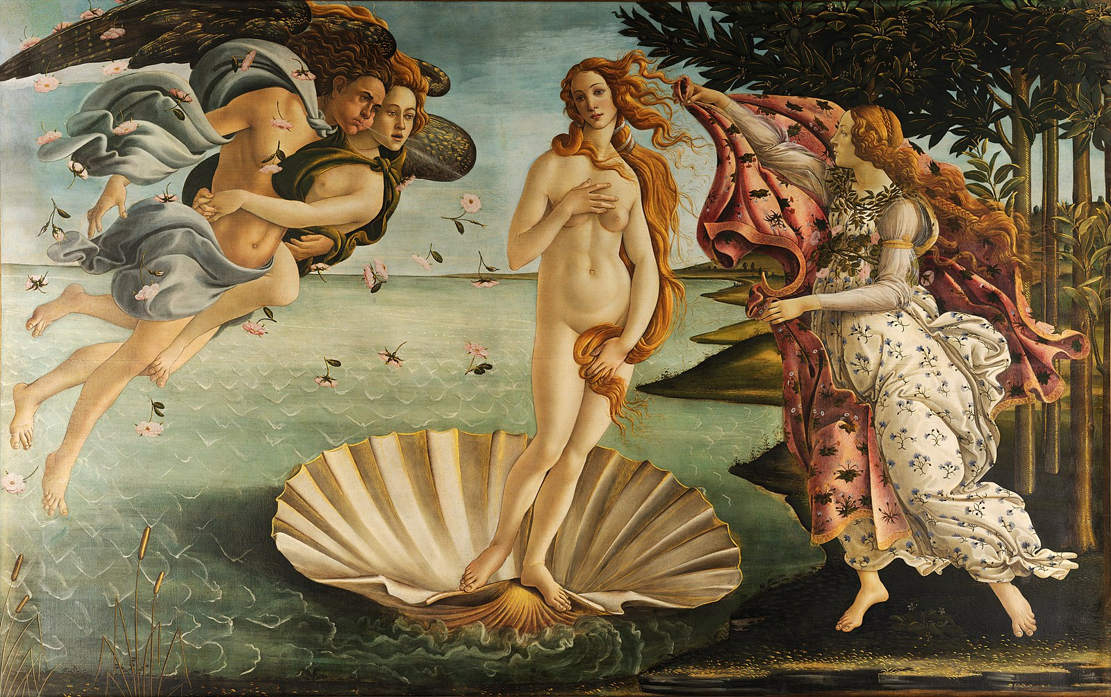 «Рождение Венеры» Сандро Боттичелли