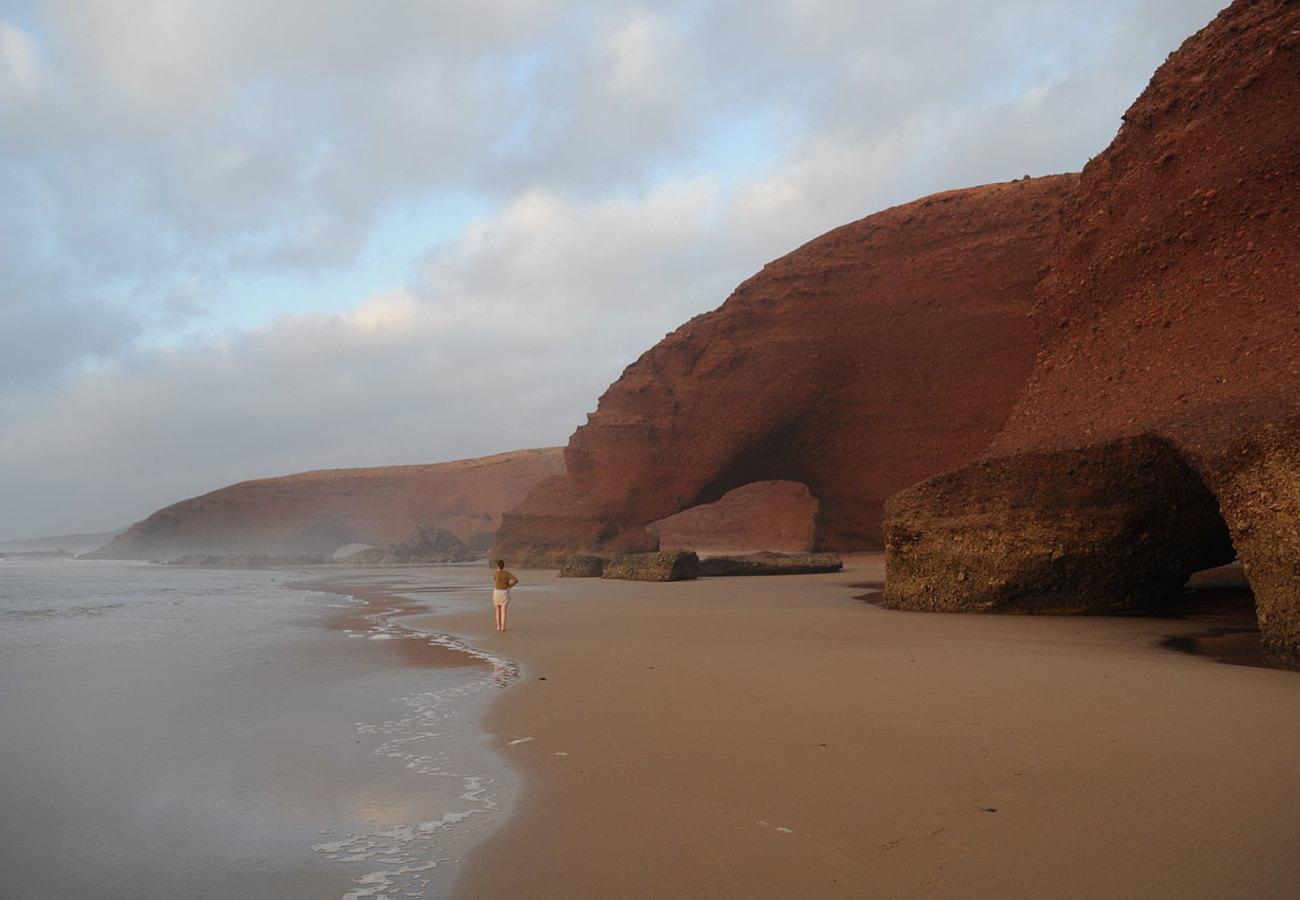 Пляж Танжер вМарокко