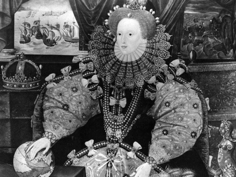 Королева Англии Елизавета I, известная своей любовью кшахматам