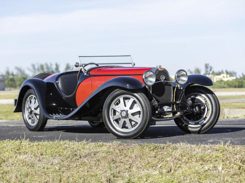 Bugatti Type 55 Super Sport Roadster 1932 года