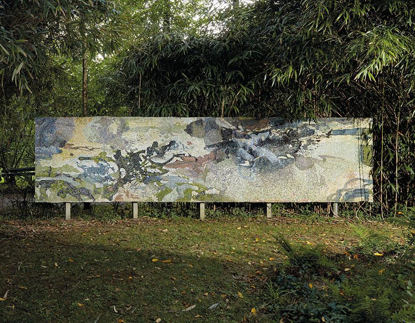 Мозаика Чжао Уцзи, «Без названия», 1984 г.