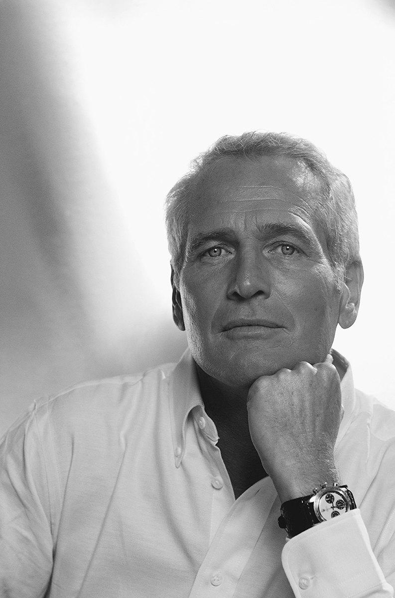 Пол Ньюман вчасах Rolex