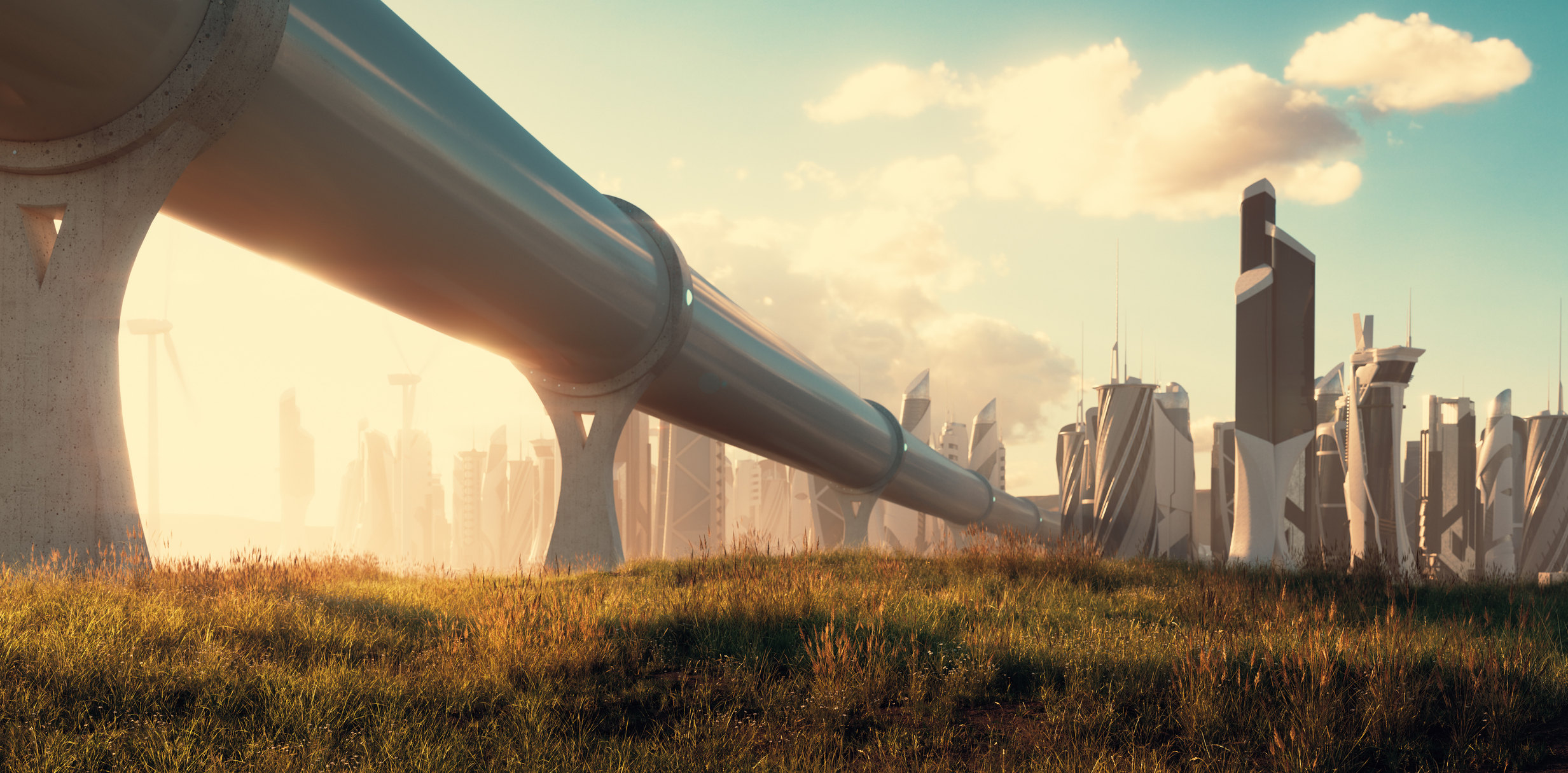 Концепт hyperloop