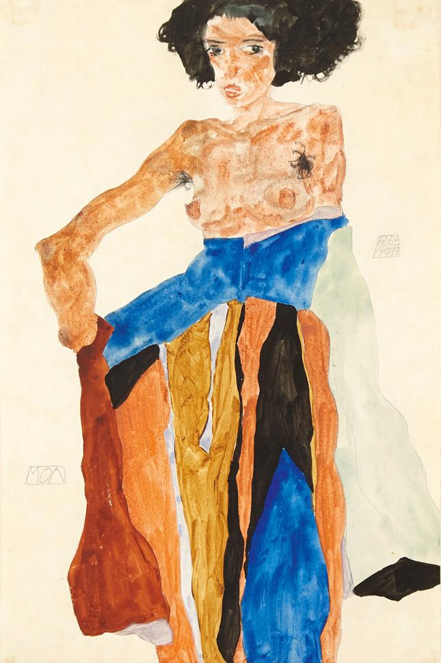 «Moa» Эгон Шиле, 1911