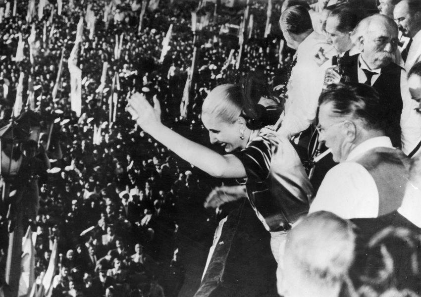 Эва Перон в1945 году