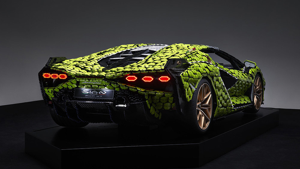Lamborghini Sian FKP 37 изLego