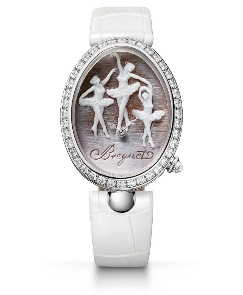 Часы Reine de Naples 8958 Cammea произведены в5 экземплярах специально дляРоссии