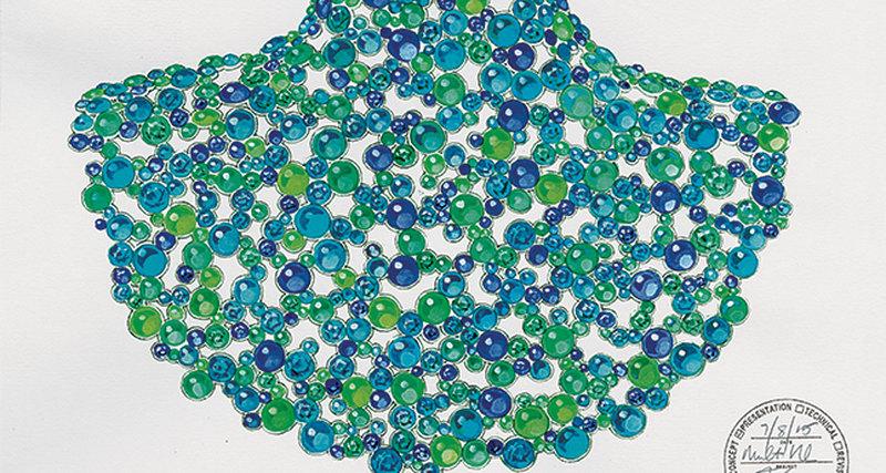 Морская тема ввысокой ювелирной коллекции Tiffany & Co.