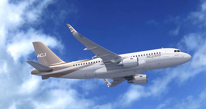 Airbus Corporate Jet Centre представляет обновлённый правительственный ACJ319