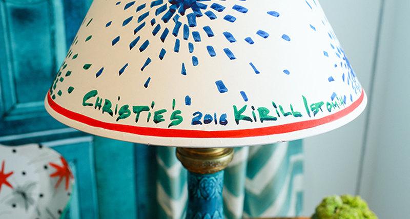 Сотрудничество сКириллом Истоминым врамках октябрьских аукционов Christie's вНью-Йорке