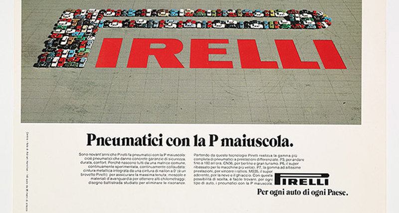 Pirelli выпустили книгу Pirelli Advertising with Capital P