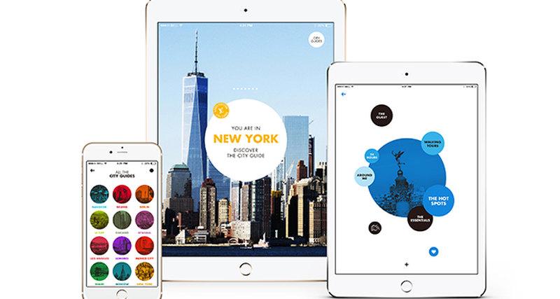 Louis Vuitton впервые представляет мобильное приложение City Guide
