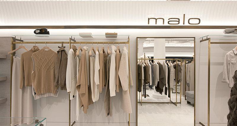 Открытие бутика Malo вЛондоне