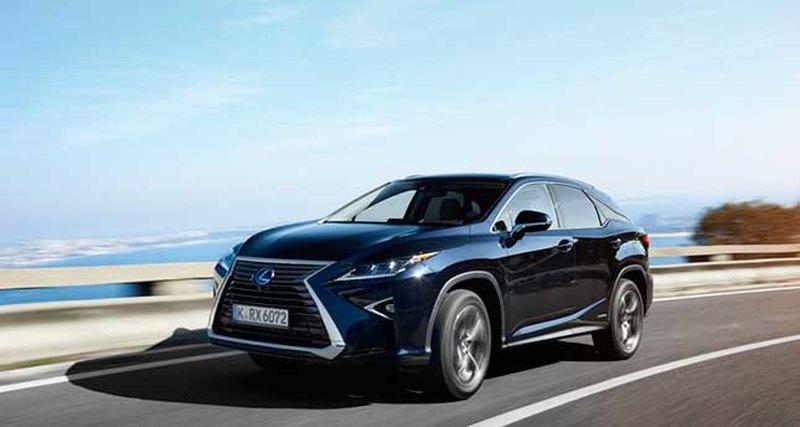 Абсолютно новый Lexus RX