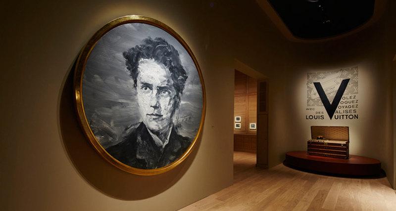 Открытие выставки Louis Vuitton VOLEZ VOGUEZ VOYAGEZ вGrand Palais