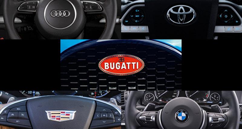 5 знаменитых фирменных знаков автомобилей
