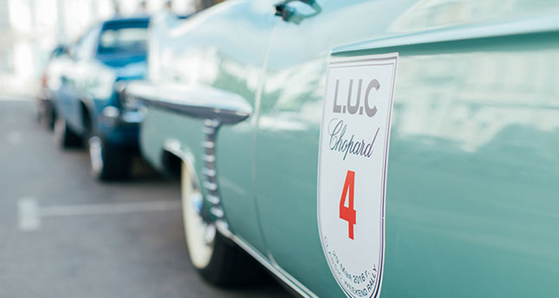 29 мая вМоскве состоялось 14е ралли классических автомобилей L.U.C Chopard