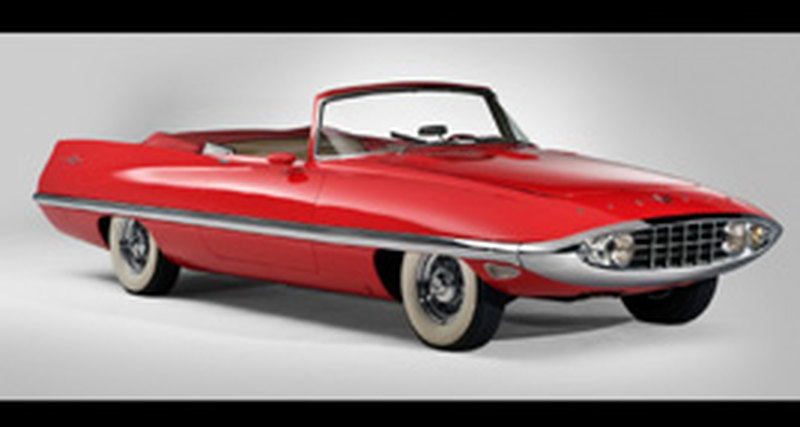 «Святой Грааль» всех концепт-каров 1950-х выставлен наторги