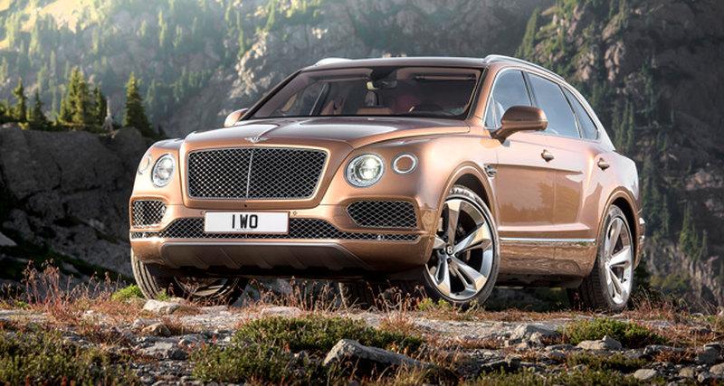 Появился первый Bentley Bentayga