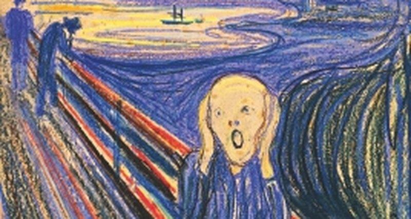 Кричащая Мона Лиза