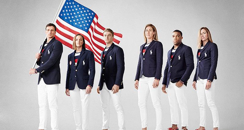 Ralph Lauren Corporation иОлимпийский комитет США представили парадную форму спортсменов
