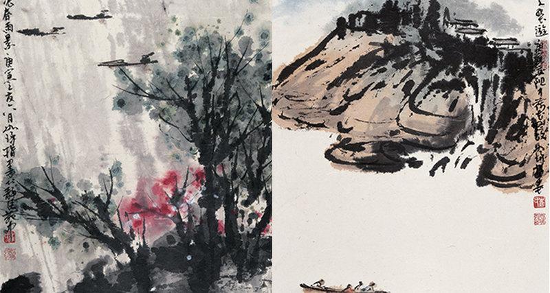 Выставка художника Цуй Жучжо «Мерцание гладкой яшмы»