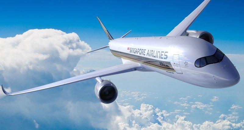 Запущен самый длинный вмире беспосадочный рейс изСингапура вНью-Йорк