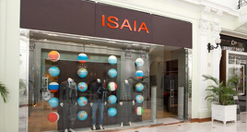 В Москве в«Петровском Пассаже» открылся магазин неаполитанской марки мужской классической одежды премиум-класса ISAIA