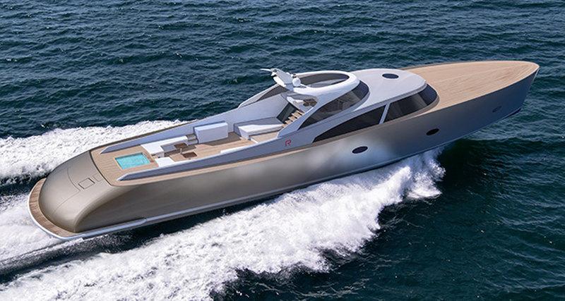 Новая суперъяхта R110 отRapsody Yachts