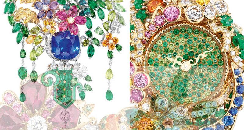 Райские сады Dior вВерсале