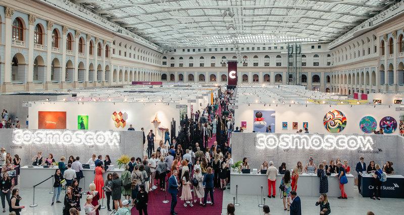 Открылась 6-я Международная ярмарка современного искусства Cosmoscow