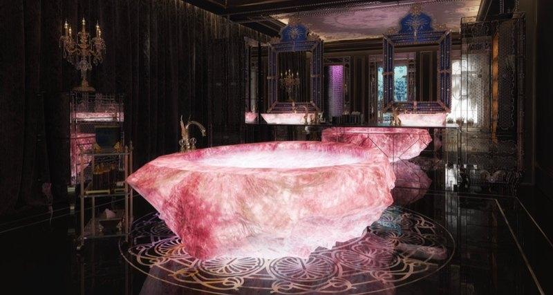 «Ювелирные» ванны ценой в$1 млн украсят комплекс роскошных вилл вДубае