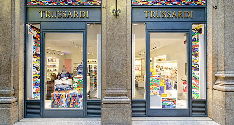 Pop-up бутик Trussardi