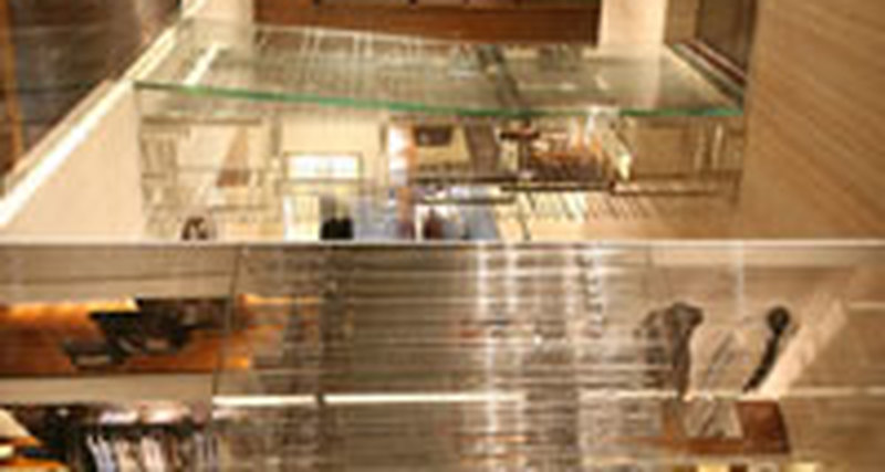 «Тактильный» бутик Ermenegildo Zegna открылся вНью-Йорке
