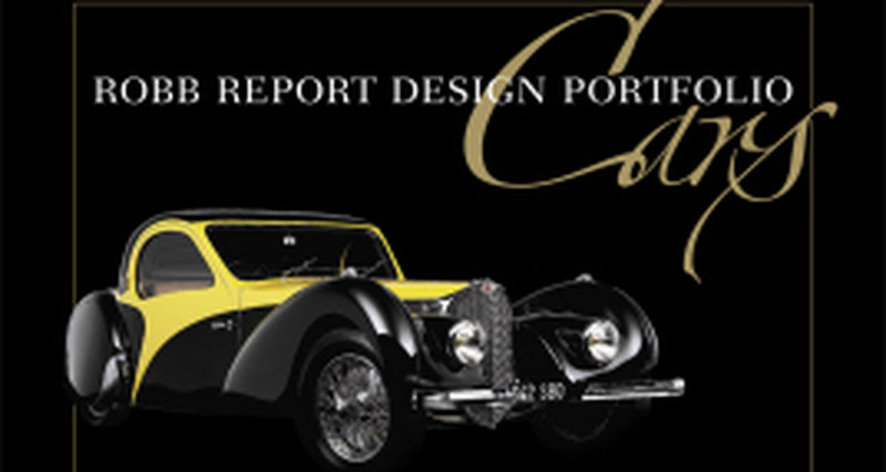 Презентация книги Robb Report Design Portfolio: Cars в Крокус Экспо