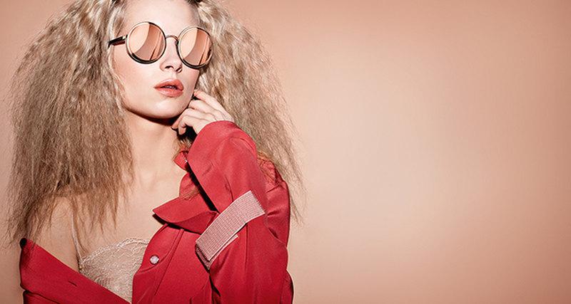 Рекламная кампания коллекции очков Chanel весна-лето 2017