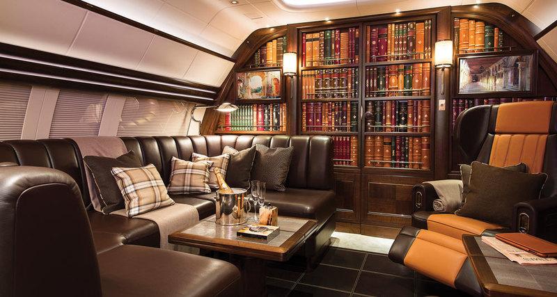 Дом внебе: самолет сгостиной отлондонской студии Winch Design