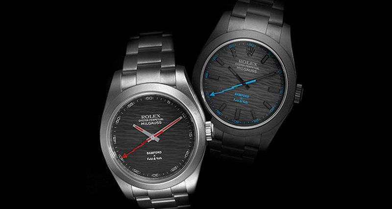 Feld & Volk иBamford Watch Department выпускают лимитированную серию кастомизированных часов Rolex