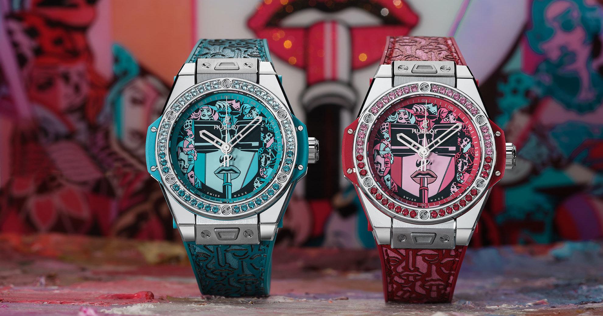 Новые часы Hublot созданы в сотрудничестве с Марком Ферреро