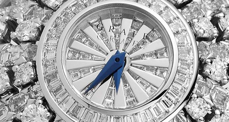 Ювелирные часы Graff Peacock