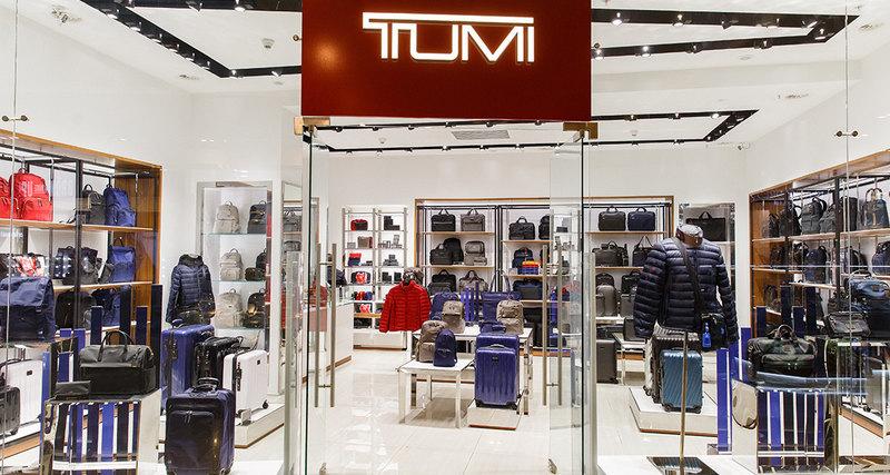 Открытие флагманского бутика TUMI