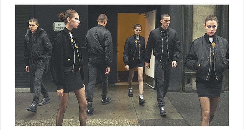 Рекламная кампания осенне-зимней коллекции Givenchy 2016/17