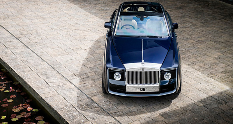 Rolls-Royce Sweptail: самый дорогой автомобиль вмире