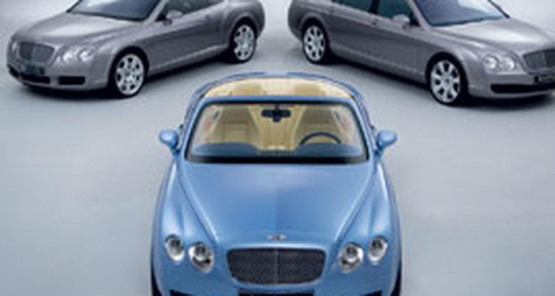 Bentley: Открытие салона вСанкт-Петербурге
