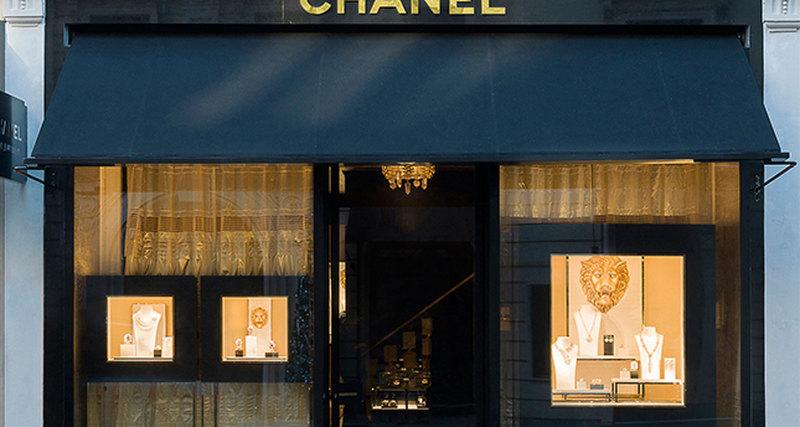 Новый ювелирный бутик Chanel вЛондоне